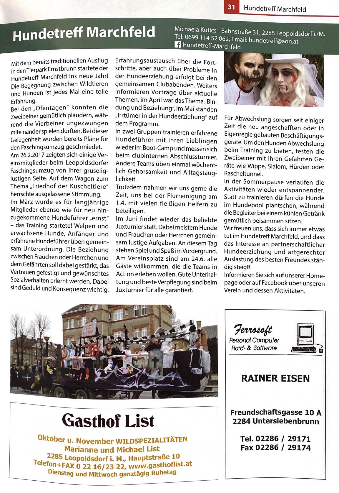 Gemeindezeitung 2017